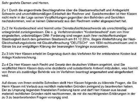 Liste Von Rüdiger Klasens Aktivitäten Sonnenstaatland Wiki