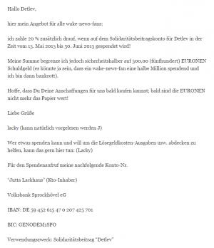 Detlev Hegeler Sonnenstaatland Wiki